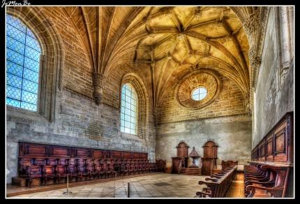 Coro Alto del Convento de Cristo en Tomar