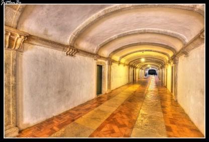 Dormitorio del Convento de Cristo en Tomar