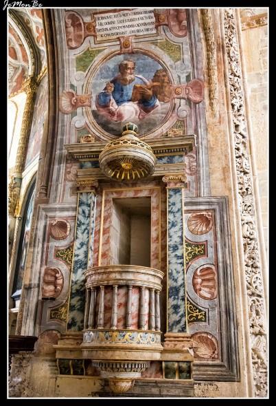 Pulpito del Convento de Cristo en Tomar