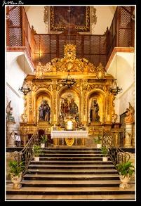 Monasterio Trinitarias altar