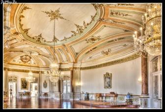 La Sala de la Música, es una de las salas más antiguas.