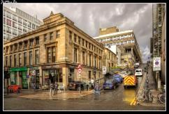 La calle Scott de Glasgow es una de las calles más escarpadas de Glasgow con una pendiente media del 20%