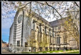 La Catedral de Lille es relativamente moderna; puesto que su construcción se inicia en 1854, y no fue finalizada hasta 1999, por lo que a la Catedral de Notre Dame de la Treille se la considera como la última catedral del siglo XX. Aunque el estilo que impera es el gótico, también podemos observar la evolución arquitectónica del edificio a través de las décadas, el edificio cuenta con torres que alcanzan la altura de 115 metros.