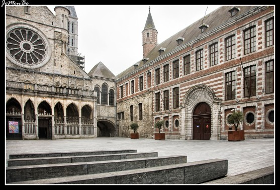 La Catedral de Notre-Dame documenta la evolución de la arquitectura medieval. Partiendo de una iglesia del siglo VI, sustituida a mediados del siglo IX por otra de planta basilical, la actual catedral románica con ábside trilobulado se comenzó a construir en 1100 y fue consagrada en 1171. Entre 1243 y 1255 el ábside románico fue sustituido por un espléndido coro gótico inspirado en el de la catedral homónima de París. Se le han hecho pocos añadidos más. Sus proporciones gigantescas producen un efecto impresionante, las cinco torres, todas distintas, se levantan sobre el crucero. Transformada en el siglo XIV, la fachada principal (en la Place de l'Évêché, entre palacios del siglo XVIII), dividida en dos franjas horizontales, está oculta por un pórtico gótico, del año 1300 aproximadamente, con arcadas desiguales. Frente al brazo izquierdo del transepto está el Obispado, de diversas épocas, unido a la catedral por una arcada llamada 'Fausse Porte ('Puerta Falsa'), donde está la capilla de Saint-Vicent, de estilo gótico primitivo, de 1198.