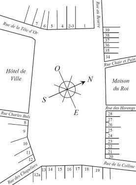013 Grand Place Mapa