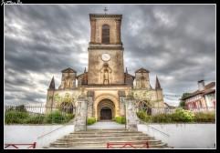 09 Bastide Clairence La iglesia de Nuestra Señora de la Asunción
