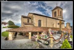 11 Bastide Clairence La iglesia de Nuestra Señora de la Asunción