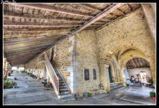 14 Bastide Clairence La iglesia de Nuestra Señora de la Asunción
