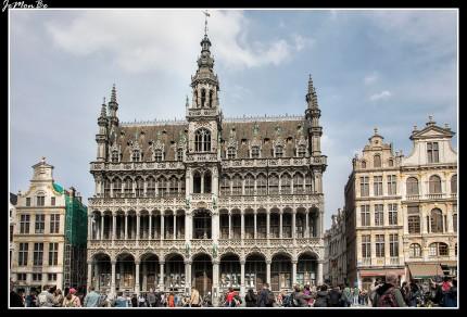 061 Grand Place casa del rey
