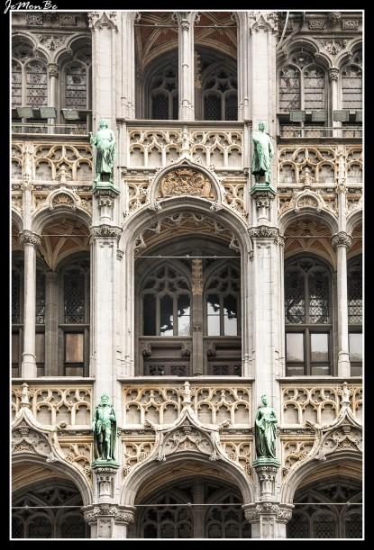 064 Grand Place casa del rey